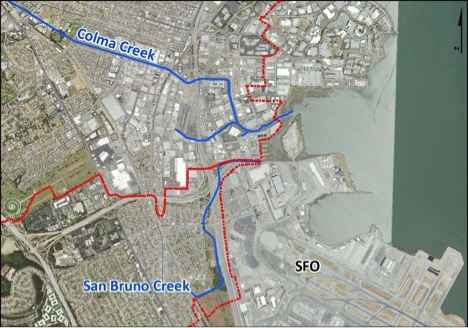 San Bruno Creek Watershed and Vicinity